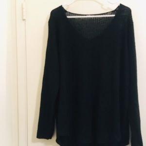Charlotte Russe Black long sleeve Sz 2X